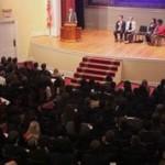 Delegates gather for UGAMUNC XX Opening Ceremonies.