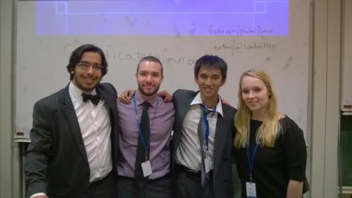 Reinhardt with the UNESCO Committee