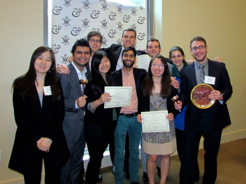 The George Washington University Delegation won Best Delegation.