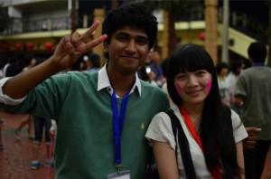 Pranav at Global Village