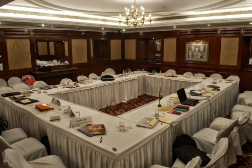 BJP-RSS committee room Credits: Abhishek Salunkhe