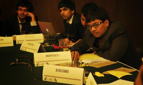 WSM delegates in committee Credits: Ramita Chatterjee
