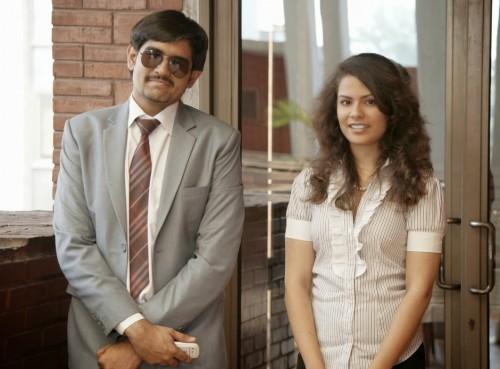 Ajay Sabharwal (SecGen) and Priyanka Sethy (DG) Credits: Kali Walia