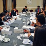 Delegates debate at YMGE 2013.