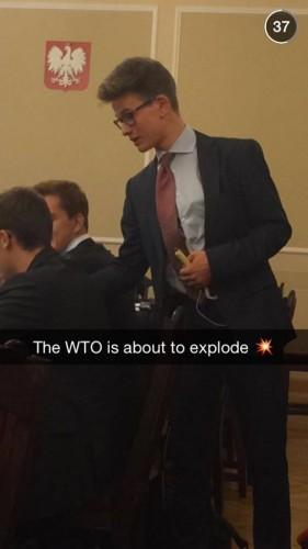 North Korea terrorist attack in World Trade Organization.