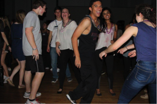 Delegates let loose at the WMHSMUN Delegate Dance