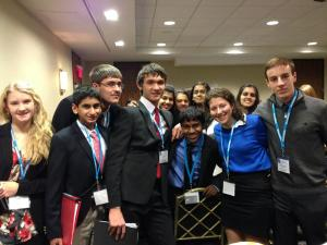 Emphasize that Model UN is about having fun and meeting new people.