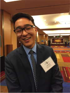 John Kim, delegate from Cerritos High School and Best Delegate Summer Programs Alumni, at RHSMUN 2014