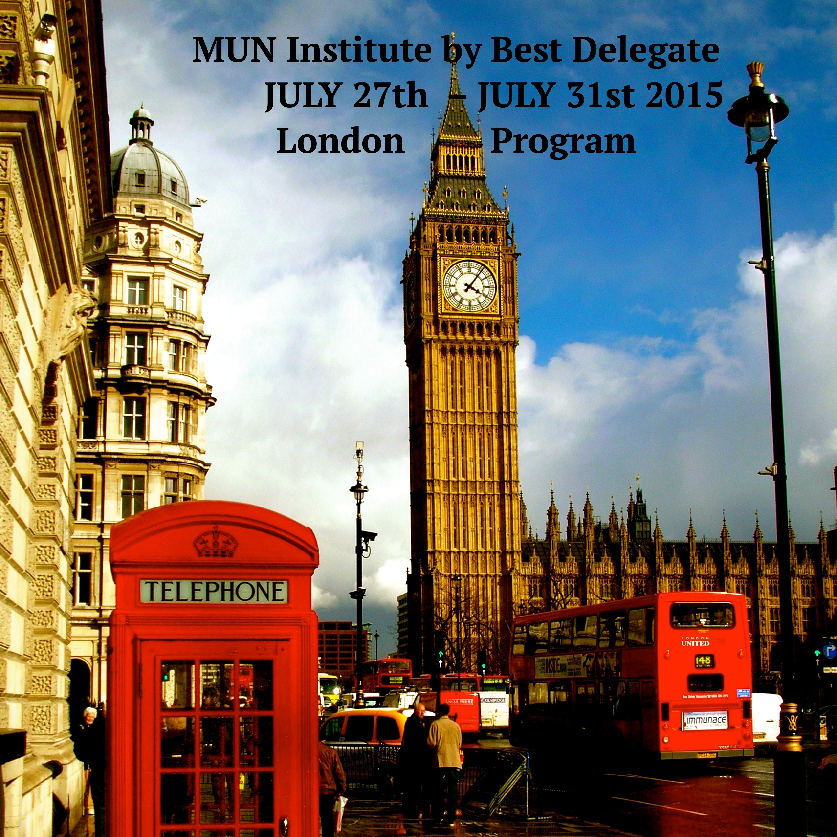 Best Delegate Is Winning London In Summer 2015 Best