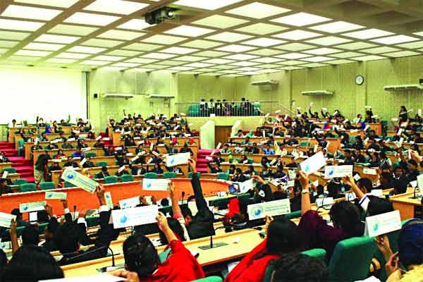 Dhaka University National Model United Nations: Empowering