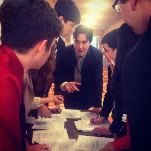 Delegates debate resolutions at JHUMUNC.