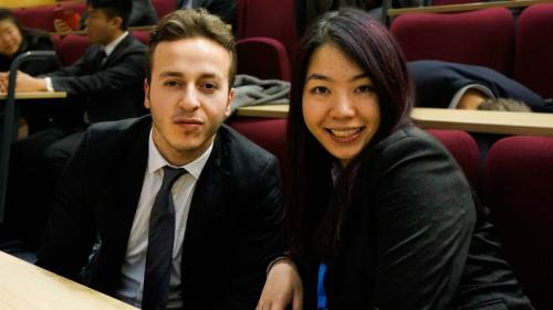 MSC directors Nito Bousmaha and Phoenix Chan.