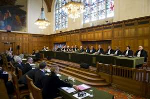 International Court of Justice (ICJ) in session