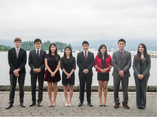 Secretariat Members of CAHSMUN 2015