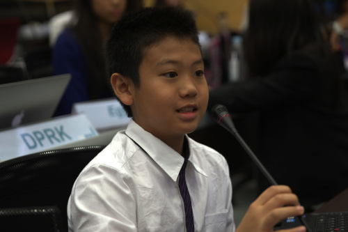 The procedures in UN4MUN make debate more exciting and accessible; even young delegates can get involved