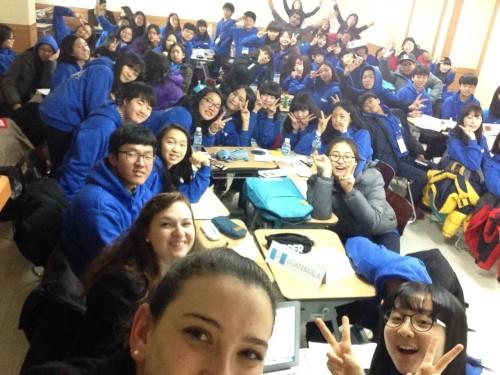 Last year's WFUNA Youth Camp Korea