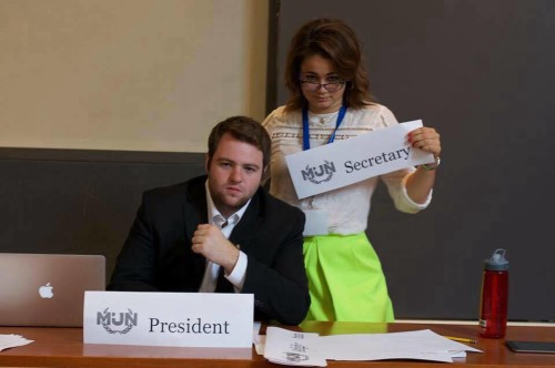 Our Model UN Institute Diplomacy Fellows know you've made a mistake when you forgot to create a crisis arc