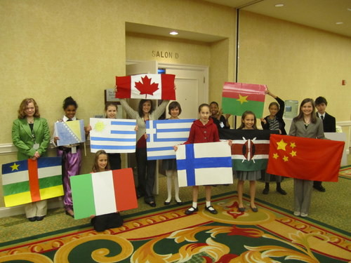 Model UN is growing at the middle school and elementary school levels