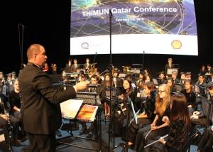 Opening Ceremony at THIMUN Qatar 2015