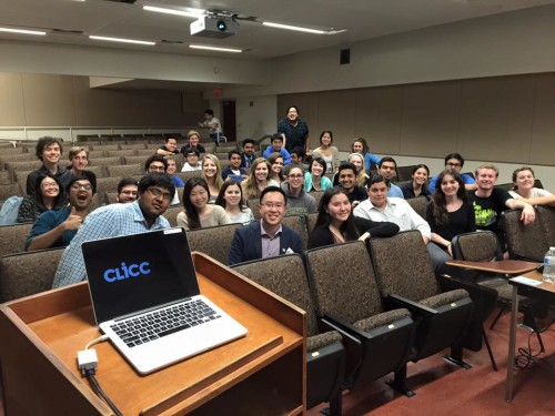 Best Delegate co-founder Kevin Felix Chan with the UCLA Model UN club