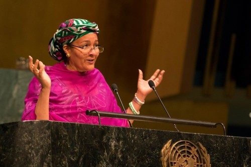 amina mohammed at UN