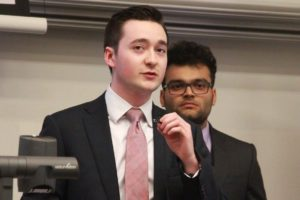 Sam Povey speaks in opposition to multiple topics