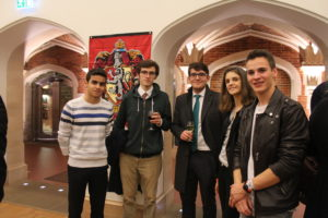 Delegates representing Gryffindor