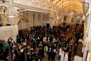 Delegates Ball during LIMUN