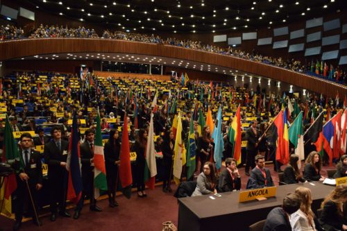 THIMUN 2014 Opening ceremony