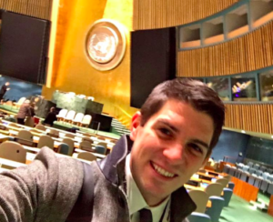 Ryan Kaminski at the United Nations