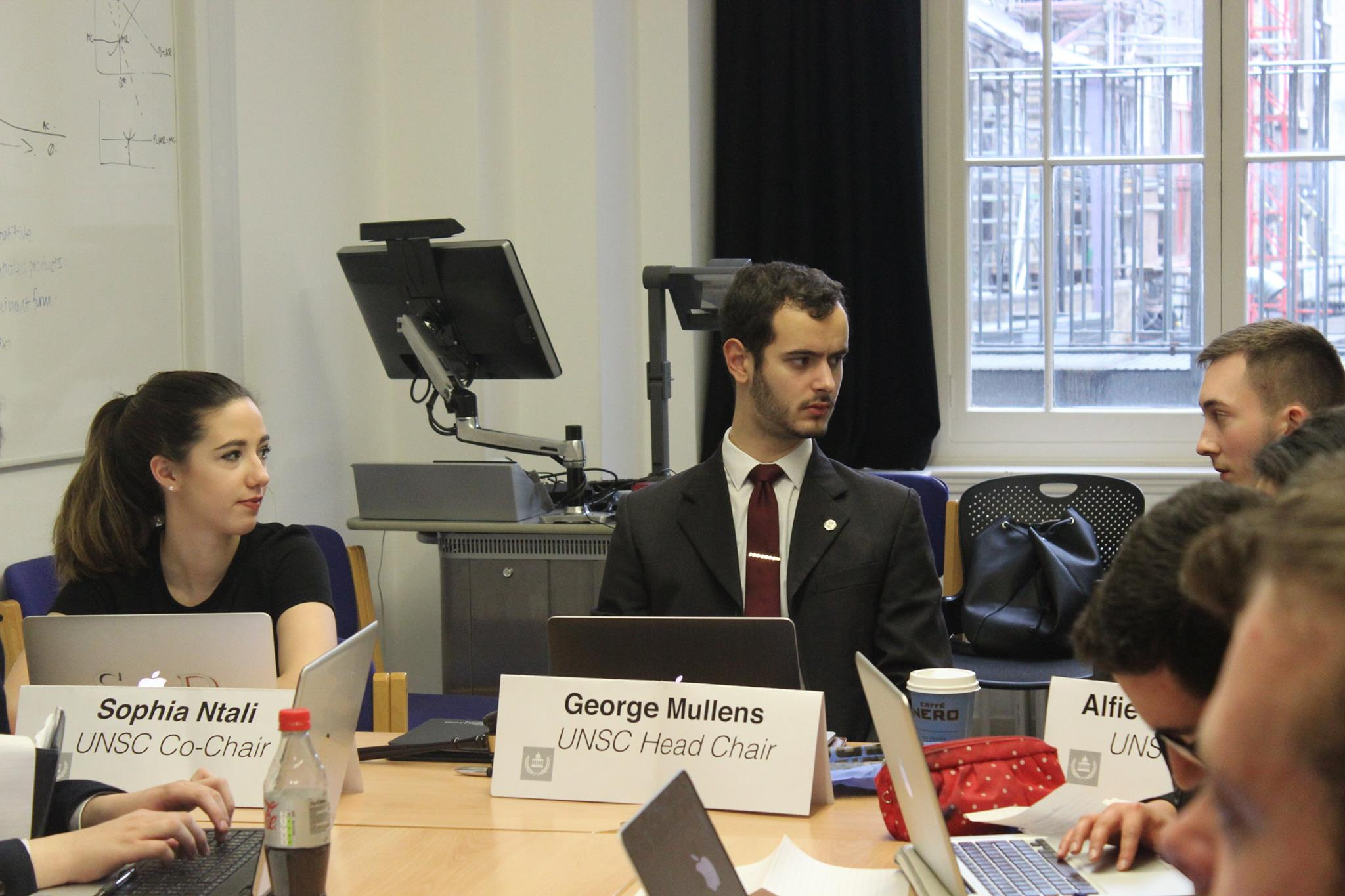The United Nations Security Council at UCLMUN 2017