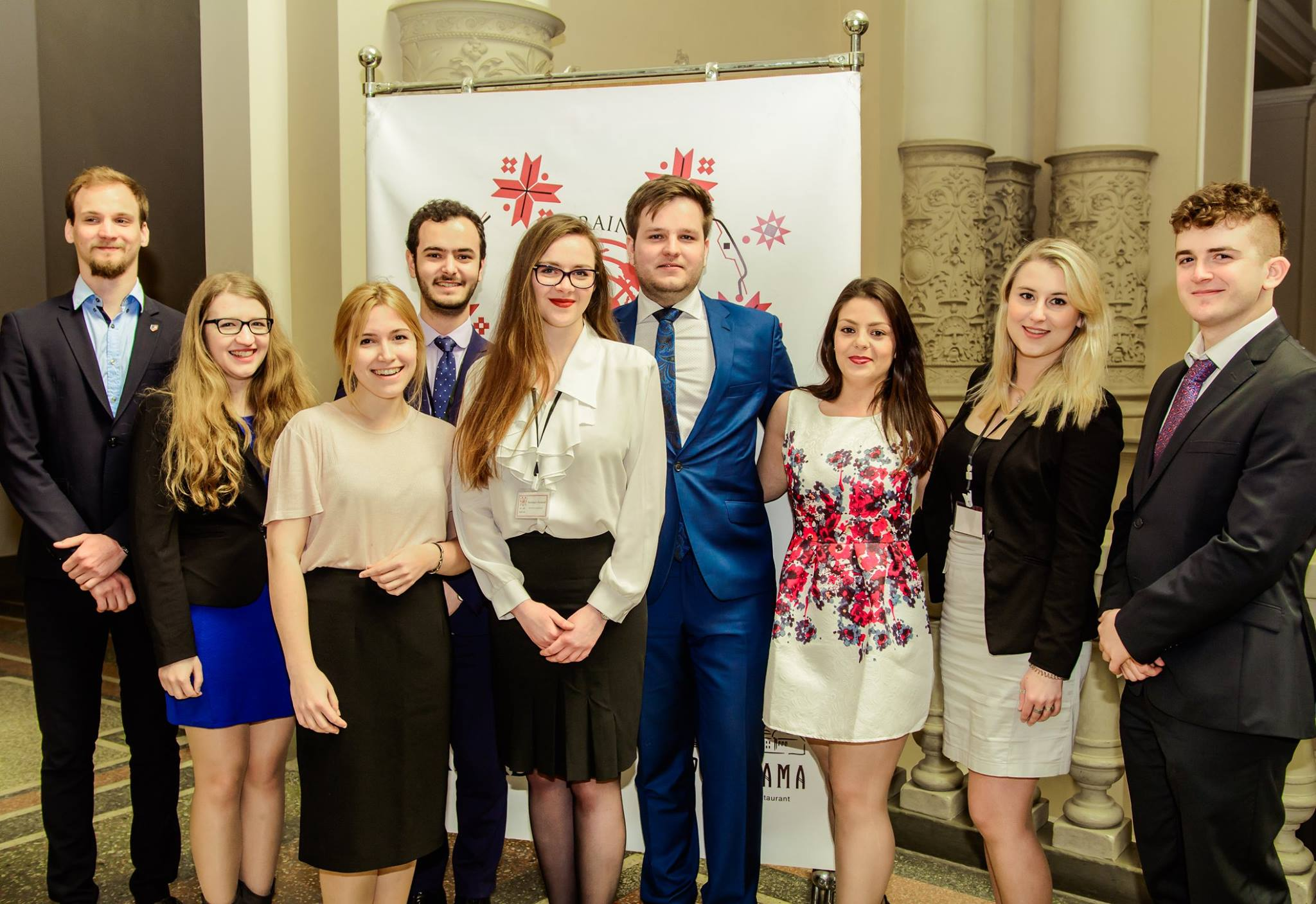 Secretariat and Organising Team of UkraineMUN 2017
