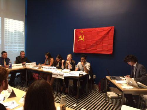 The Soviet Politburo at TrojanMUN