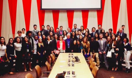 Brazilians made up 50% of an UN4MUN workshop at the UN Headquarters