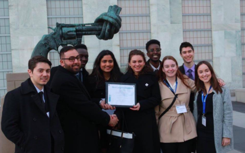 McMaster University is the most recent Canadian university to win a delegation award at WIMUN