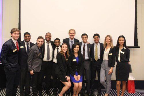 The TrojanMUN Secretariat with the opening ceremonies keynote speaker, Los Angeles City Attorney Mike Feuer