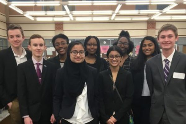 Howard High School and Long Reach High School Model United Nations Conference