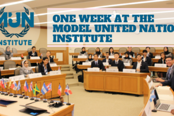 One week at the MUN Institute